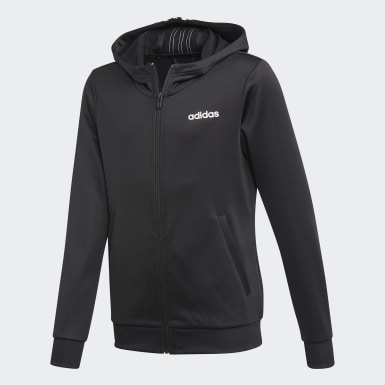 Youth Training Black Cardio Hoodie