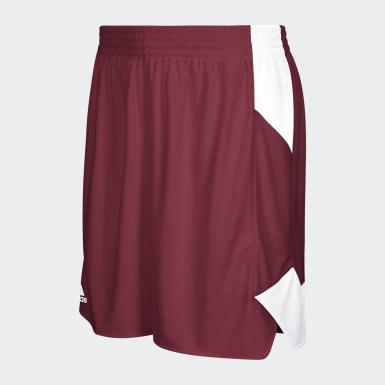 Women's Basketball Burgundy Crazy Explosive Shorts