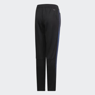 Boys Football Black Tiro 19 Training Tracksuit Bottoms