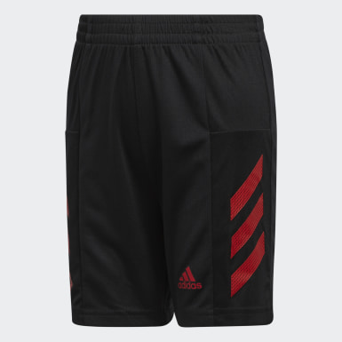 Youth Training Black Pro Sport 3-Stripes Shorts