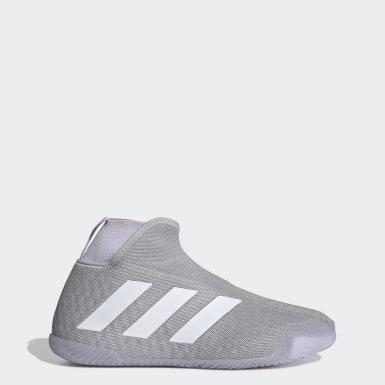Zapatillas sin pasadores Stycon Cancha Dura Plomo Mujer Tenis