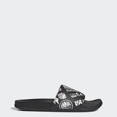 Swim Black Adilette Comfort Sandals