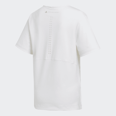 T-shirt Larga TRUESTRENGTH Branco Mulher adidas by Stella McCartney