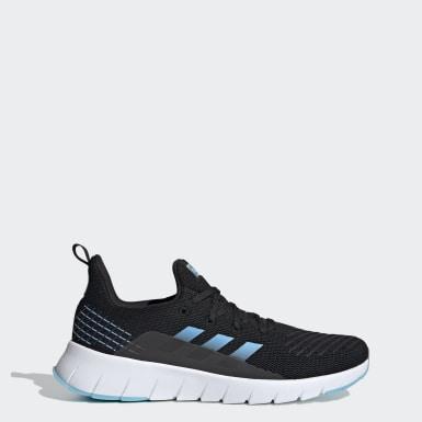 Men Running Black Asweego Shoes