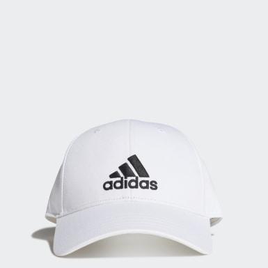 เทรนนิง สีขาว หมวกเบสบอล