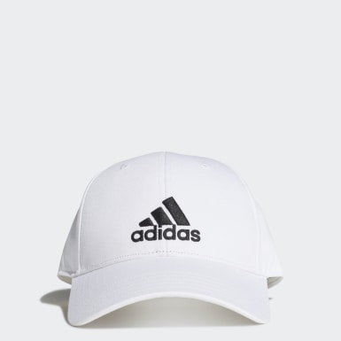 Tennis White Baseball Cap