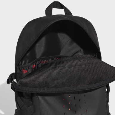 Football Black Predator Backpack