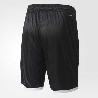 Men Tennis Black Court Short