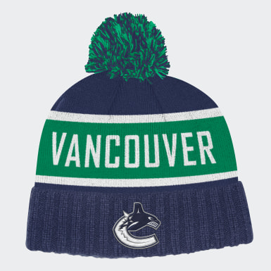 Canucks Cuffed Knit Pom Hat