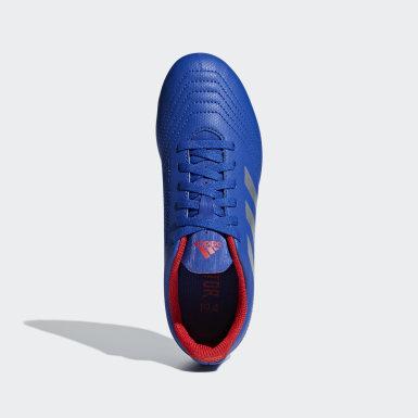 Boys Football Blue Predator 19.4 Flexible Ground Boots