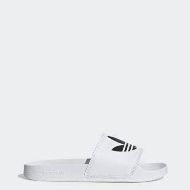 Originals สีขาว รองเท้าแตะ Adilette Lite