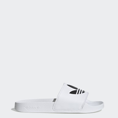 Men Originals White Adilette Lite Slides