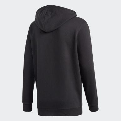Sweat-shirt à capuche3-Stripes Noir Hommes Originals