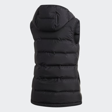 Women Outdoor Black Helionic Down Vest