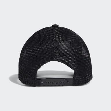 เด็กผู้ชาย กอล์ฟ สีดำ หมวกทรัคเกอร์ Gradient