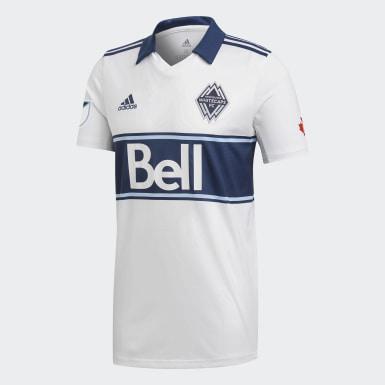 Männer Fußball Vancouver Whitecaps FC Trikot Weiß