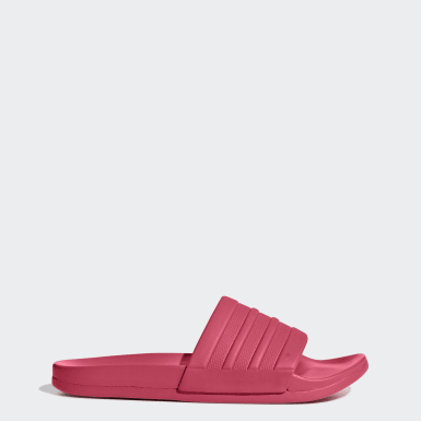 Women Training Pink Adilette Comfort Slides