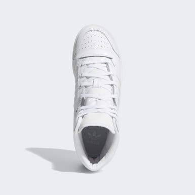 Kids Originals White Top Ten Hi Shoes