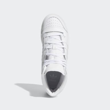 Kids 4-8 Years Originals White Top Ten Hi Shoes