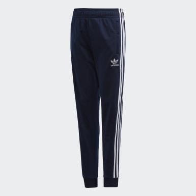 Děti Originals modrá Sportovní kalhoty SST