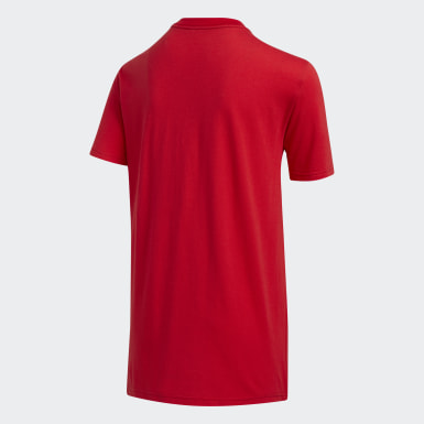 Youth Training Red USA Tee