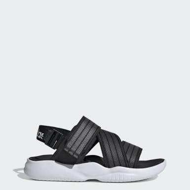 Women Swimming Black 90s Sandals