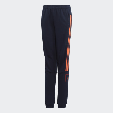 Jungen Athletics adidas Athletics Club French Terry Hose Blau