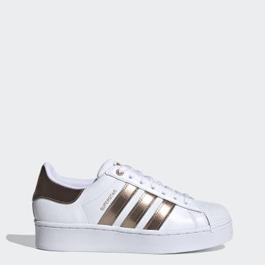 Sapatos Superstar Bold Branco Mulher Originals