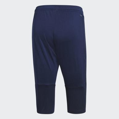 Pantaloni 3/4 Condivo 18 Blu Uomo Calcio