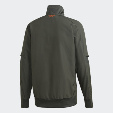 Manchester United Presentation Jacket Zielony