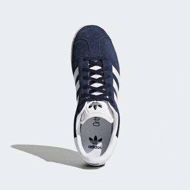 Zapatillas Gazelle (UNISEX) Azul Niño Originals