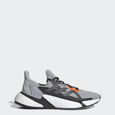 Heren Hardlopen grijs X9000L4 Schoenen