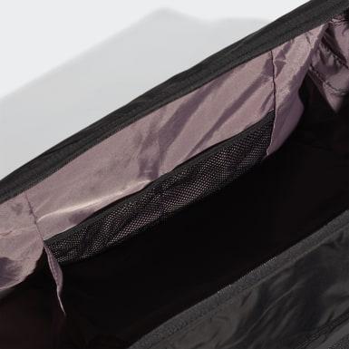 ผู้หญิง เทรนนิง สีดำ กระเป๋าดัฟเฟิล ID