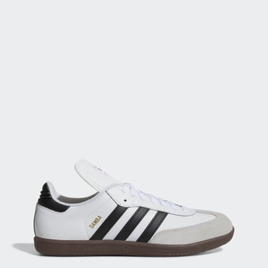 Men's Soccer White Samba Classic Shoes