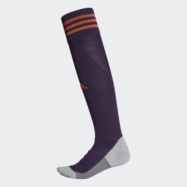 Football Purple AdiSocks Knee Socks
