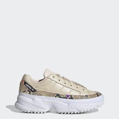Kvinder Originals Beige Kiellor sko