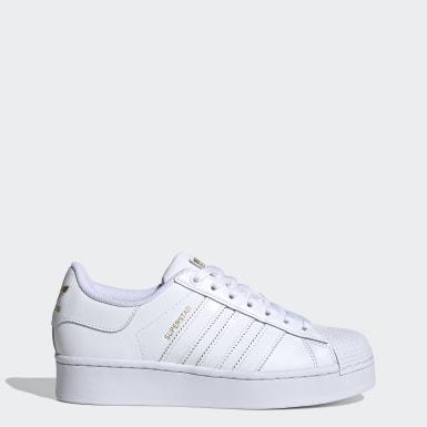 Kadın Originals Beyaz Superstar Bold Ayakkabı