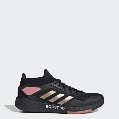 Kvinder Løb Sort Pulseboost HD sko