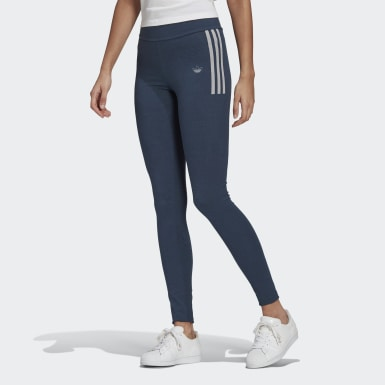 Dames Originals Blauw Fakten Legging