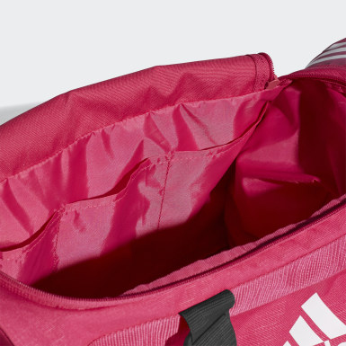 Training Pink Convertible 3-Stripes Duffel Bag Small