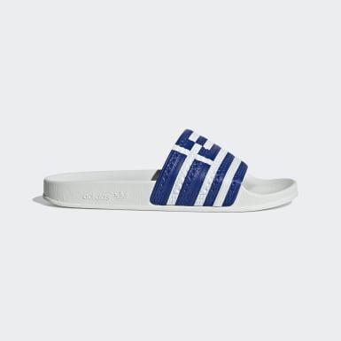 Originals White Adilette Slides