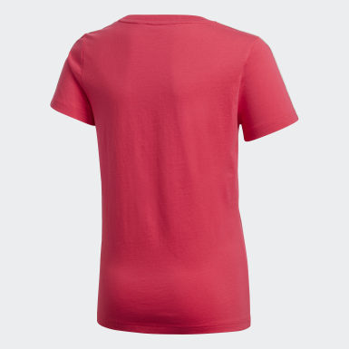 Girls Training Pink Gym Tee