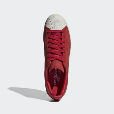 Tenis Superstar 80s Rojo Hombre Originals