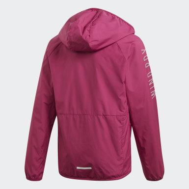 Girls Träning Lila WIND.RDY Windbreaker