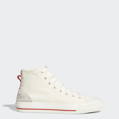 Men's Originals Beige Nizza Hi RF Shoes