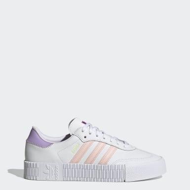Kvinder Originals Hvid SAMBAROSE sko