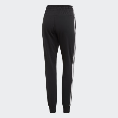 Pantalón Essentials 3 Tiras Negro Mujer Essentials