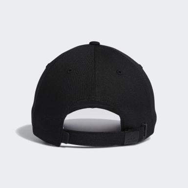 Women's Golf Black 3-Stripes Heart Hat