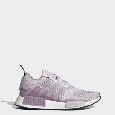 Women Originals Pink NMD_R1 Primeknit Shoes