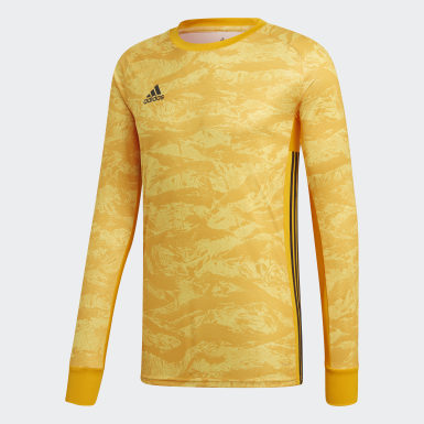 Mænd Fodbold Gul AdiPro 18 Goalkeeper trøje